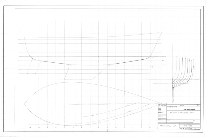 13 Foot Sailing Dinghy linesplan