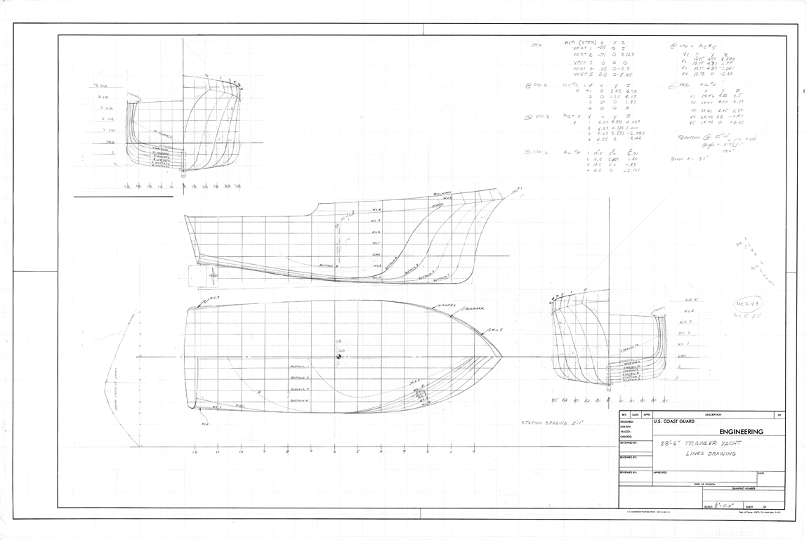 28 Foot Trawler Yacht
