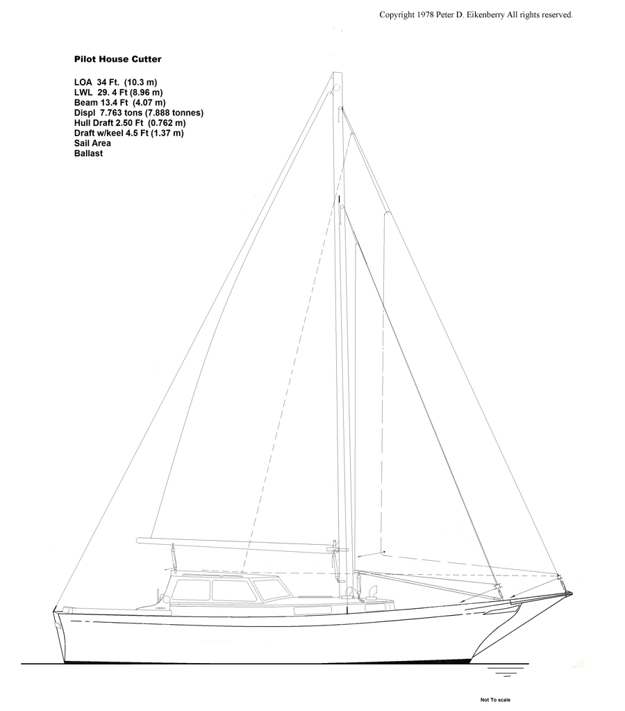 35 Foot Sailboat