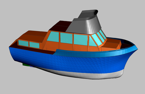 Boat Design | 28 Ft Trawler Yacht | New Boatbuilders Home Page