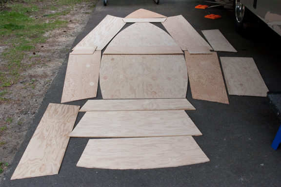 Plywood Layout