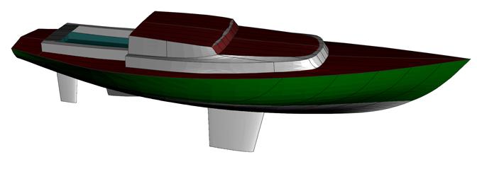 38 Foot Sailboat