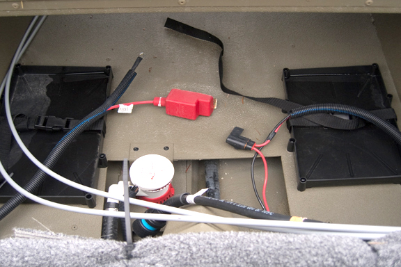 Boat battery wiring for spare wire center u2022