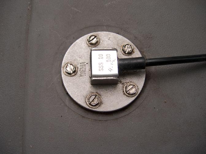 New fuel gauge sender w/groundwire
