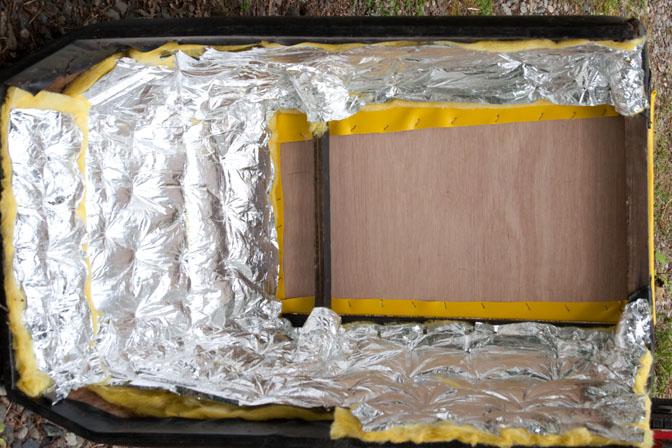 Engine cover inside w/insulation