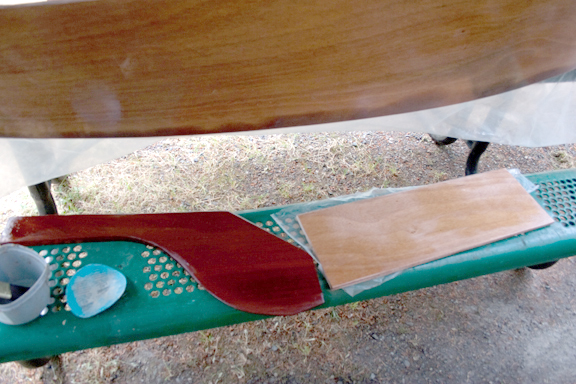 Centerboard and rudder